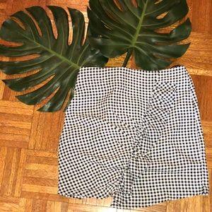 {Nasty Gal} Ruffle Gingham Reena Skirt